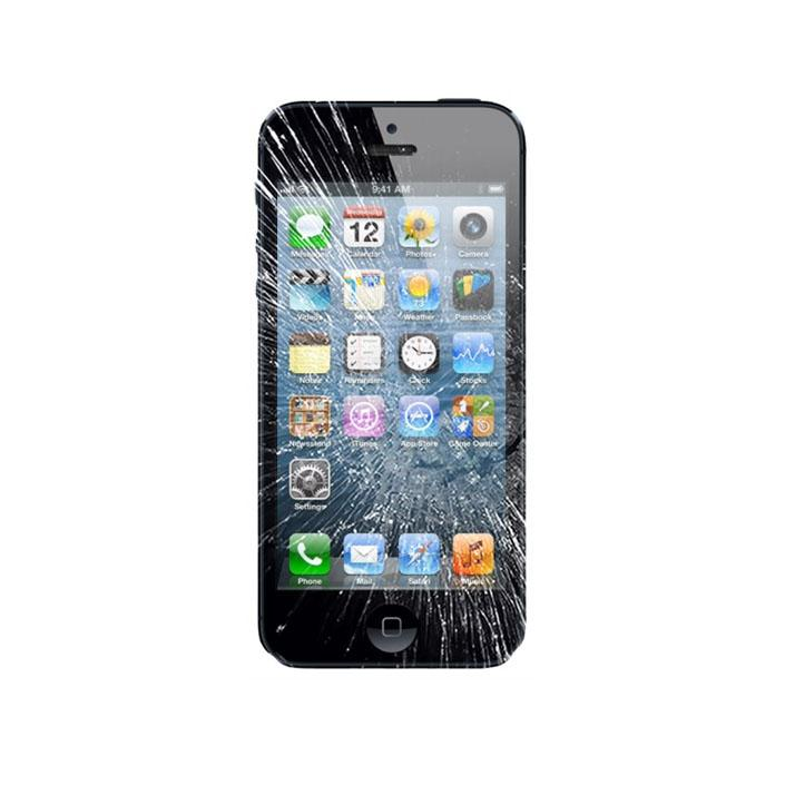 iPhone 5 LCD Display & Touch Glas ReparationC